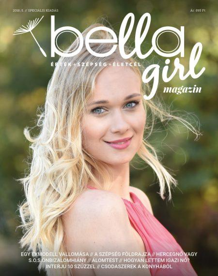 BellaGirl-magazin 1. szám borító
